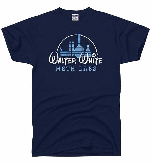 aba7ce44a Amazon.com: DirtyRagz Men's Walter White Meth Labs T Shirt: Clothing