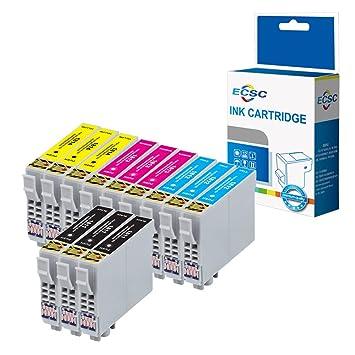 ECSC Compatible Cartuchos de Tinta de Repuesto para EPSON XP-102 ...