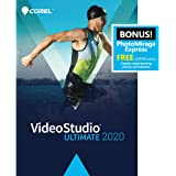 Corel VideoStudio Ultimate 2020 - Video & Movie Editing Software - Slideshow Maker, Screen Recorder, DVD Burner - Premium Effects from NewBlueFX, Boris FX, ProDAD - Free PhotoMirage Express [PC Download]