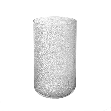 Giluta Cylinder Glass Shade Inside Sandblast Finish Glass Lamp Shade Replacement Glass Pieces Light Fixture Shade With 1 5 8 Inch Fitter A00007