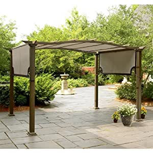 Amazon.com : Crest Pergola Replacement Canopy : Gazebos