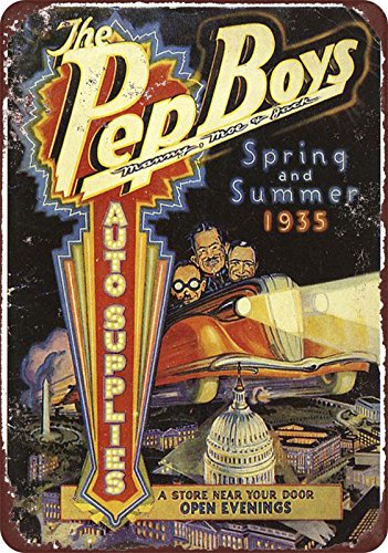 1935-pep-boys-auto-supplies-vintage-look-reproduction-8-x-12-metal-sign