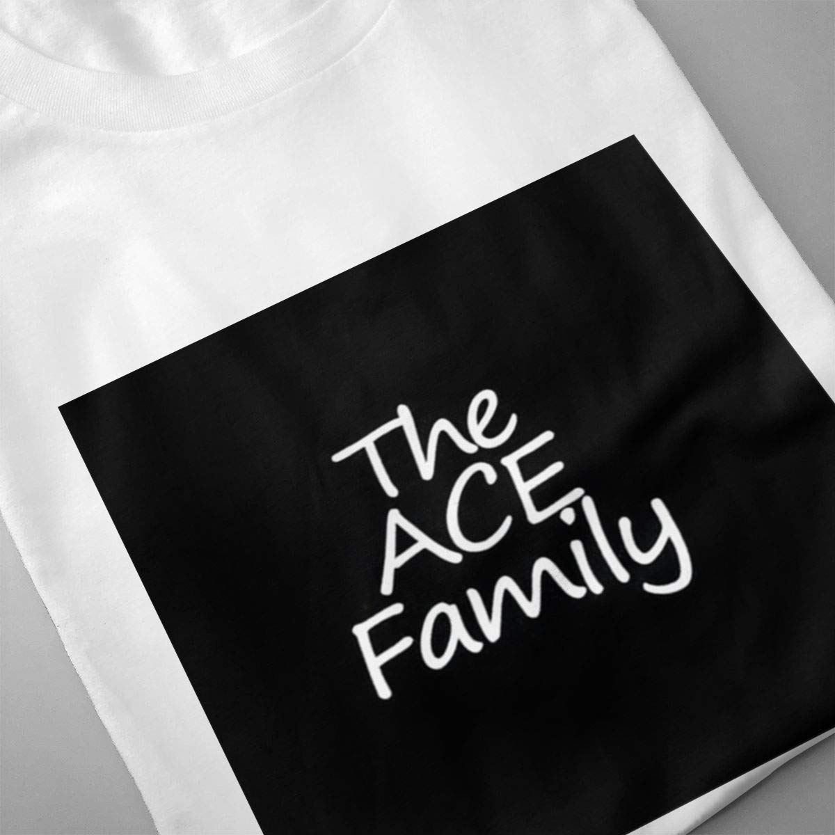 Smooffly Mens The Ace Family Ultra Soft Crew Neck Coton Short Sleeve T-Shirts