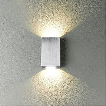 Led Wall Sconces Light Fixtures Up Down 2w Modern Small