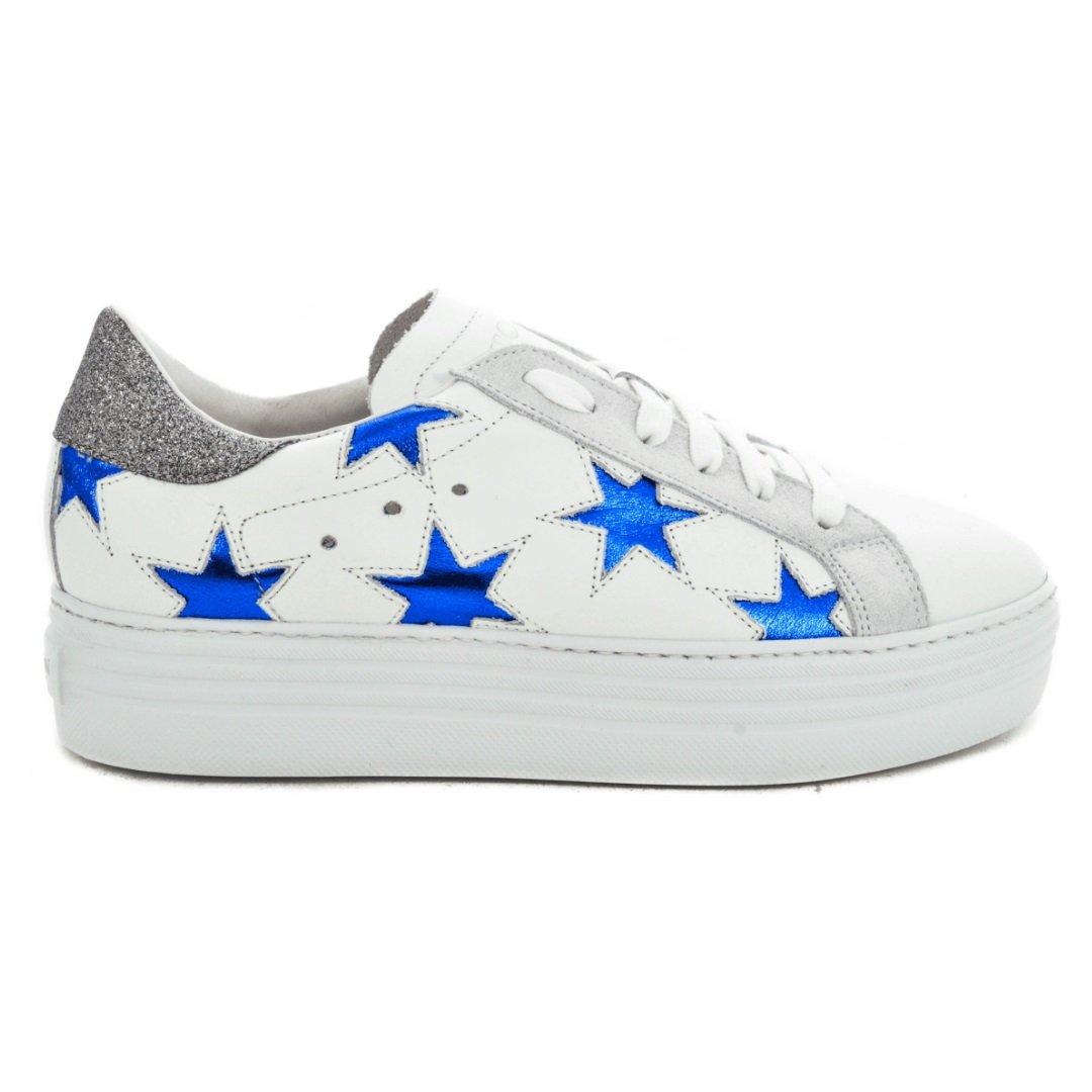 Stokton Zapatillas de Goma Para Mujer * 37 EU Bianco