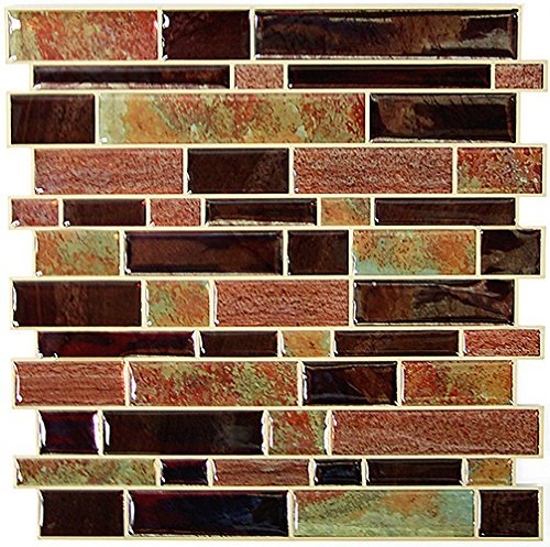 - RoomMates StickTILES Modern Long Stone Peel and Stick Backsplash Tiles - 4 Per Pack