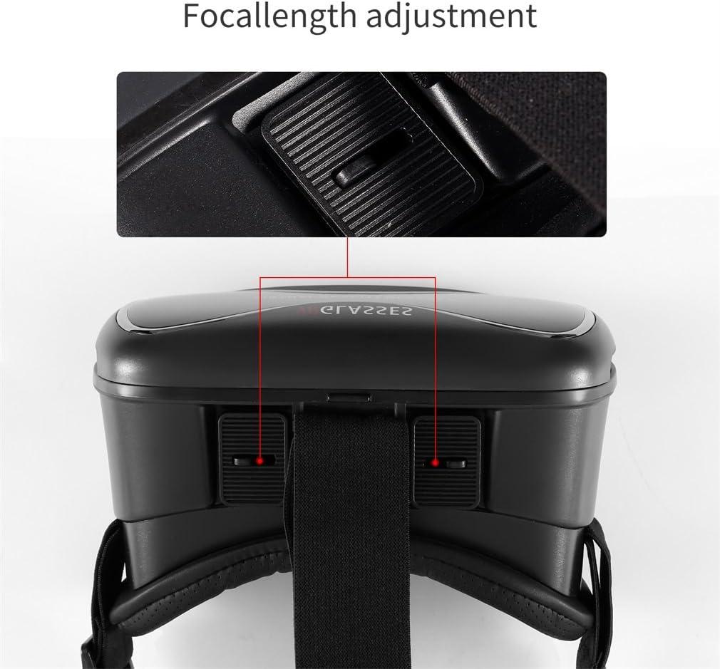 LESHP 3D VR Virtual Reality Brille Schwarz Brille Helm Headset ...