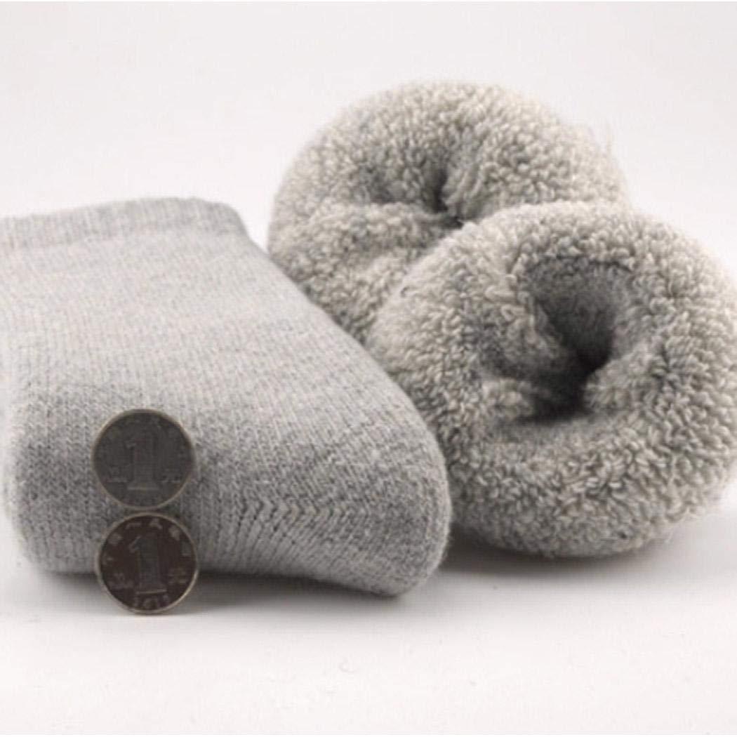 queges Calzini invernali in lana termica ispessiti da uomo pi/ù caldi Calzini