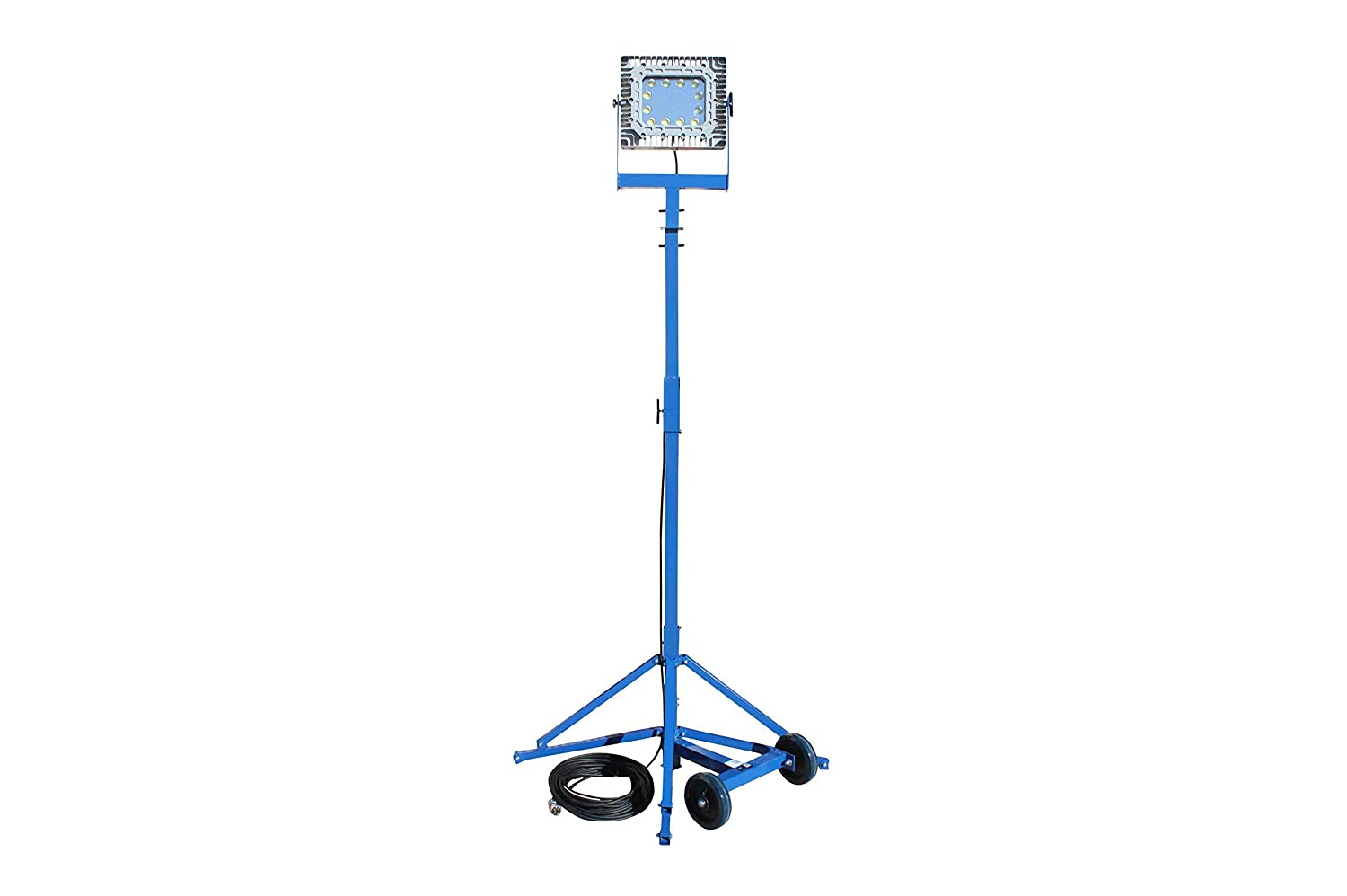 9.42 Height Tripod Mount Class 2 Division 1 150 Watt Explosion Proof LED Light Tower