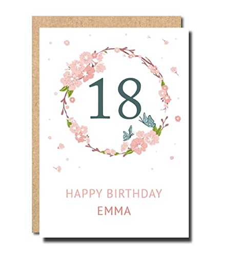 Cute 18th Birthday Cards
