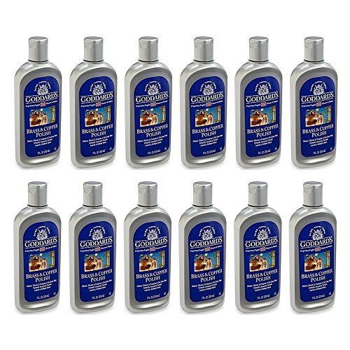Goddard's Brass & Copper Polish Metal Cleaner & Polish, 7-Ounce (12 pack) by Goddard's