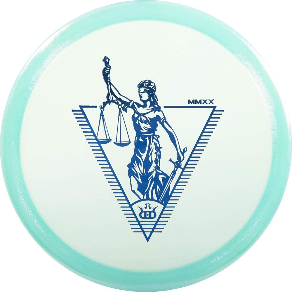 Dynamic Discs Limited Edition Glimmer Lucid Justice Midrange Approach Golf Disc [Colors May Vary]