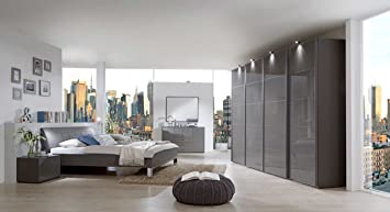 3-tlg. Schlafzimmer von Wiemann in Havanna-Dekor ...