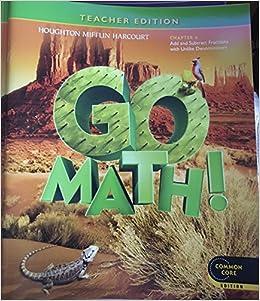 Houghton Mifflin Harcourt Go Math Grade 6 Answer Key