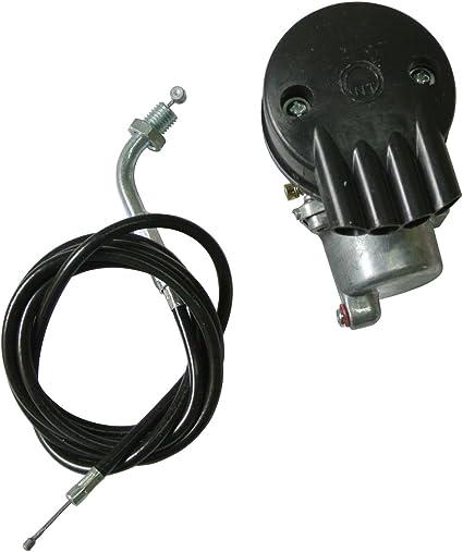 JRL Carburador + cable de freno para bicicleta Motor de gasolina 2 tiempos 49 cc 80 cc Kit de motorización para bicicleta: Amazon.es: Coche y moto