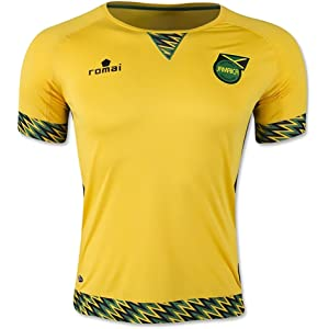 Romai Officially Licensed Jamaica 2015 Home Soccer Jersey