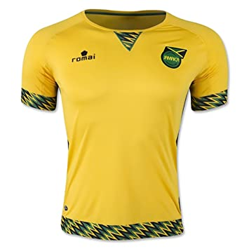 romai producto oficial de Jamaica 2015 Home Soccer Jersey