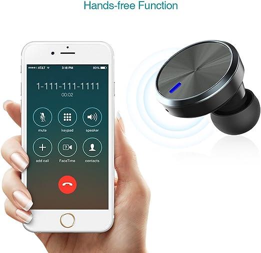 dodocool Auriculares Bluetooth 4.1 Cargador de coche con Auricular ...