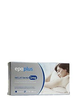 Epaplus Melatonina 1 Mg Con Vitamina B6 Y Magnesio 30 cápsulas de Peroxidos Farmaceuticos: Amazon.es: Salud y cuidado personal