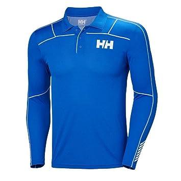 Helly Hansen HH LIFA Active Light LS Polo, Hombre, (Azul 563 ...
