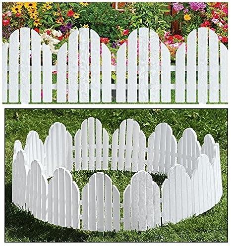 Valla de jardín de Parkland®, panel blanco estilo Adirondack ...