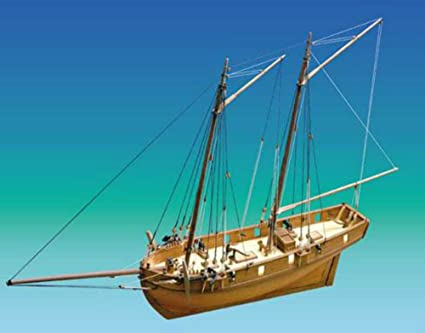 Amazon.com: HM Schooner ballahoo – Modelo Ship Kit por ...
