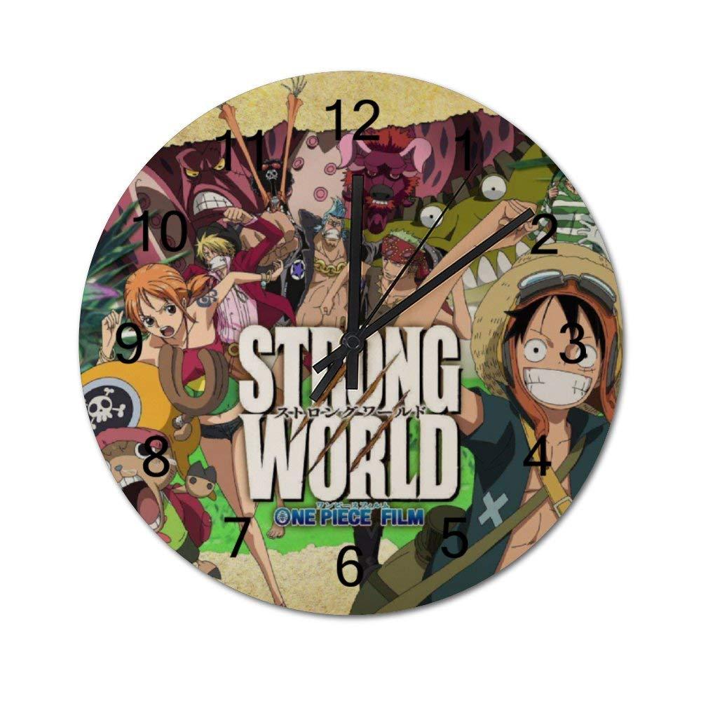 Amazon.com: BSZTYJDF Black Wall Clock,Monkey D. Luffy ...