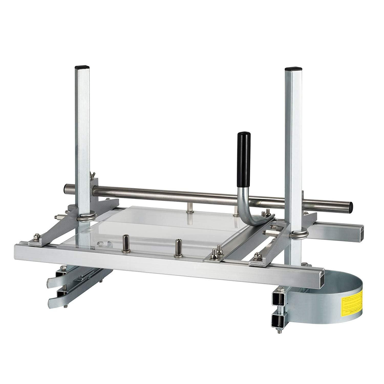 HUKOER Herramientas de Madera Molino de Motosierra Port/átil de Aluminio Acero con Longitud de Tablas Ajustable 14-24(24 Pulgadas)