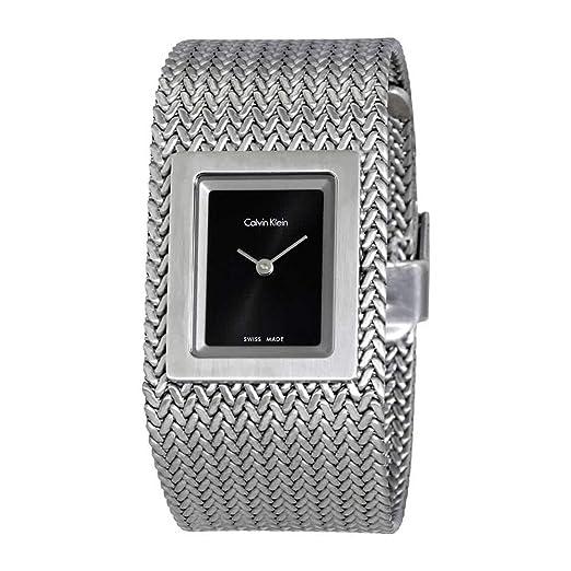 Calvin Klein malla - Reloj de cuarzo para mujer k5l13131: Calvin Klein: Amazon.es: Relojes
