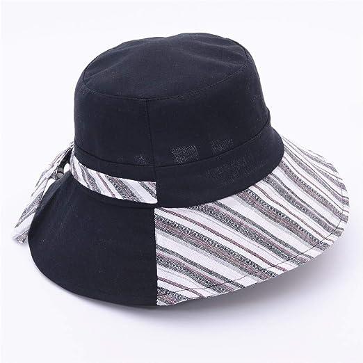 sdssup Gorra de Lavabo Visera Sombrero de Mujer Plegable Sombrero ...
