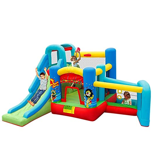 Dfghbnbaby Inflable Castillo de la Despedida de House Party ...