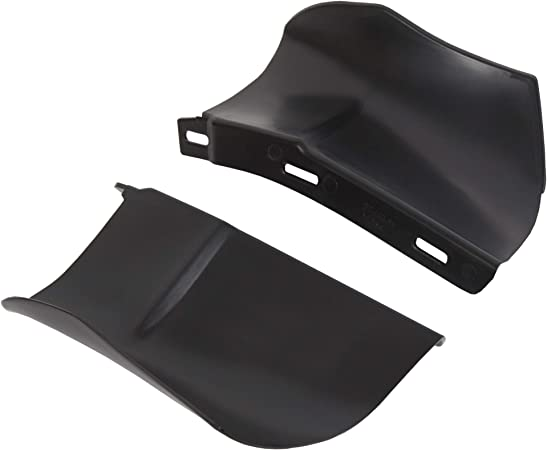 Rear Bumper Quarter Panel Fillers Kit Primed Left Right Fits Chevy Chevrolet Caprice Impala 1986-1990 ABS Black 2PCS 1 Pair
