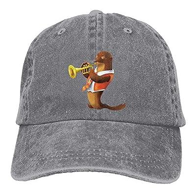 Men Women Sea Lion Jeanet Baseball Hat Adjustable Trucker Cap