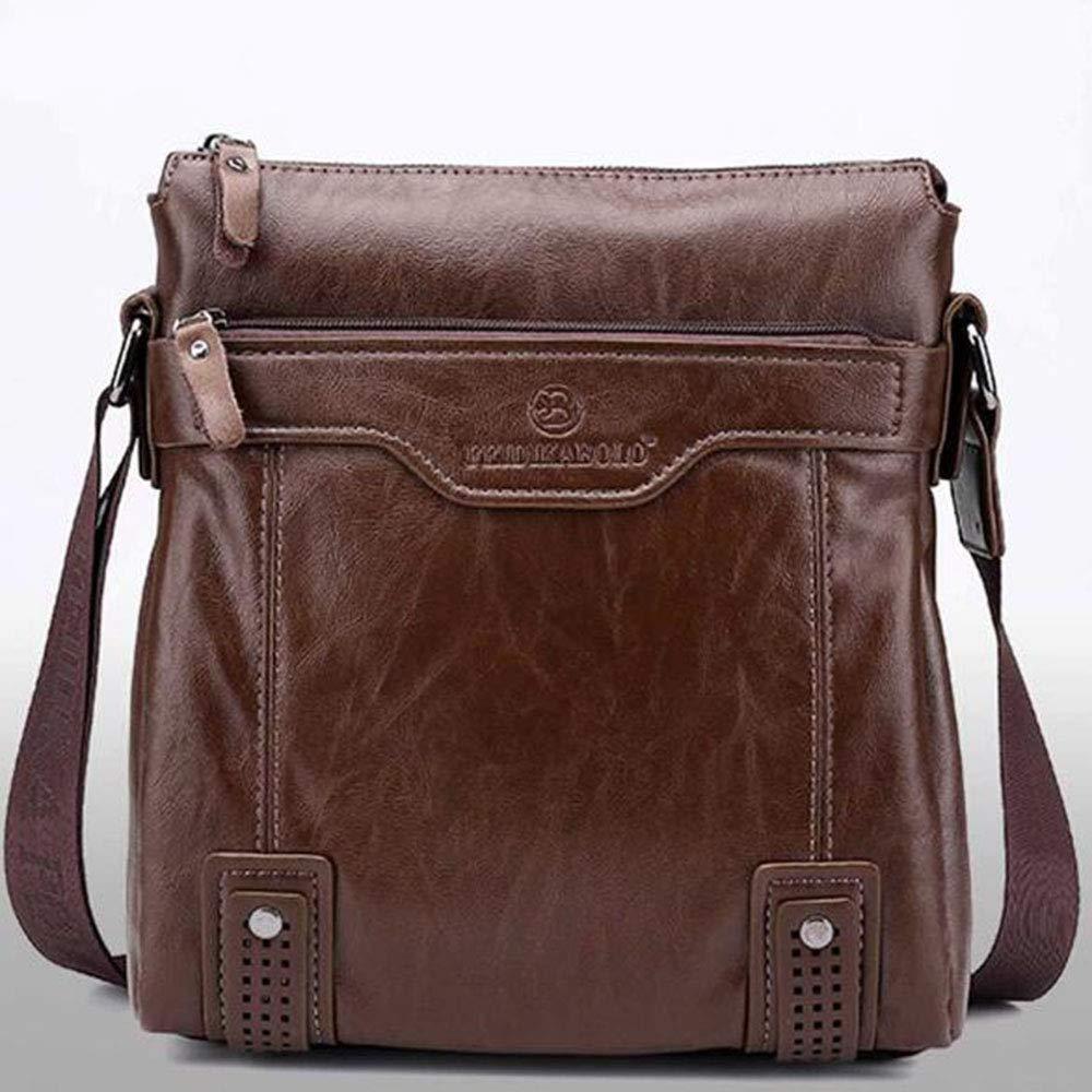 Liuliangmei Bolso bandolera Hombres bolso de Hombre Bolsa de Hombres de negocios edición Horizontal Casual maletín