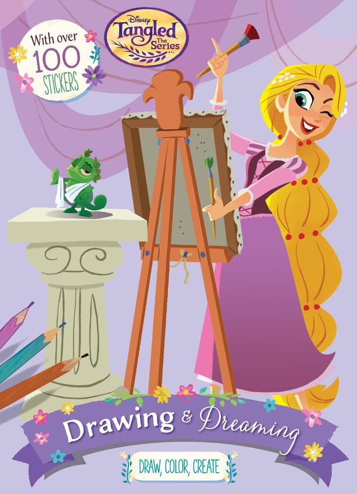 Disney Tangled The Series Drawing Dreaming Parragon Books Ltd 9781474883917 Amazon Com Books