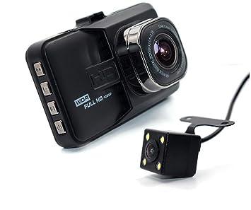szzhckj 3.0 pulgadas 1080p full hd coche DVR cámara videocámara doble lente + lente de 170