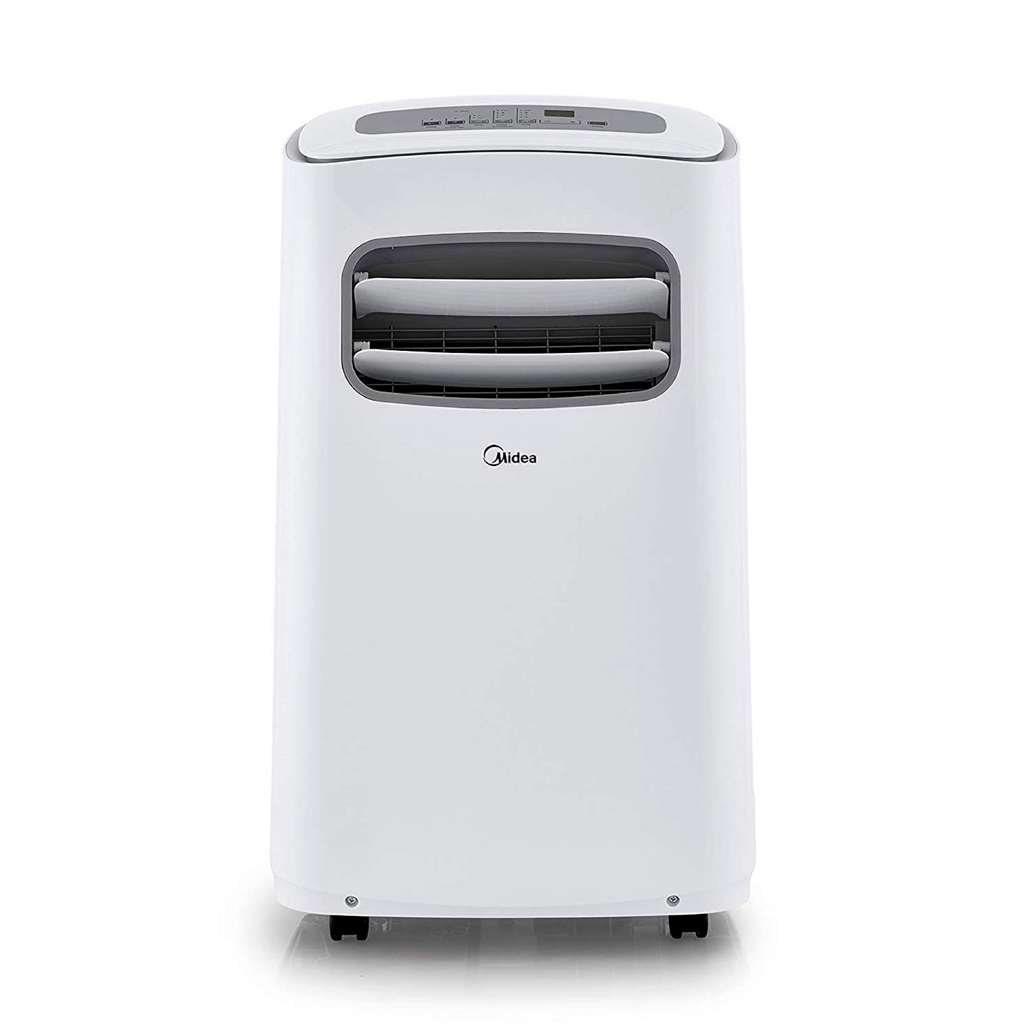 MIDEA MPF14CR81-E Portable Air Conditioner 14000 BTU Easycool AC (Cooling, Dehumidifier and Fan Functions) for Rooms up to 350 Sq, ft. with Remote Control, 14,000, White