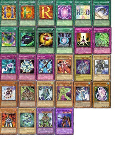 Yu Gi Oh Gx Elemental Hero Custom Deck (41 Cards)