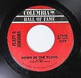 Flatt & Scruggs 45 RPM Down in the Flood / Universal Soldier