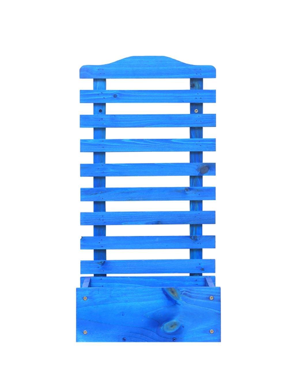 LB huajia ZHANWEI Kreativer Balkon Hängender Blumenbehälter-Regal-Standplatz-hängender Massivholz-Blumen-Zahnstange (größe : C)