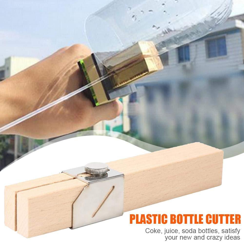 Yanten Creativo Portatile Bottiglia di plastica taglierina Strumento Fai da Te allaperto Bottiglie di Corda Artigianale