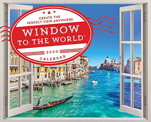2020 Window to the World™ Wall Poster Calendar: Create the Perfect View Anywhere