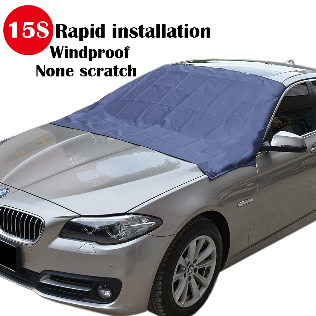 Sunny Color TMA-1 Magnetic Edges Windshield Snow Cover}