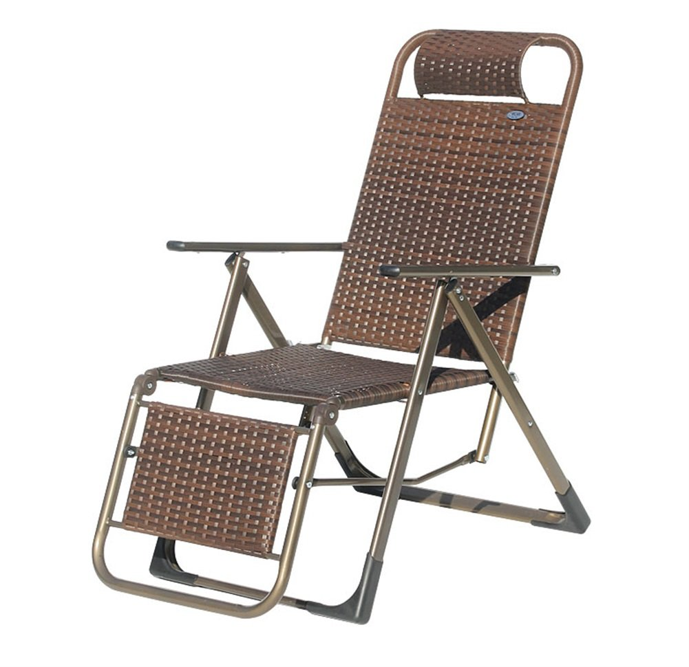 ZXH Folding Recliner Multifunktions-Schwangere Frau Nap Stuhl Portable Home Balkon Break Chair