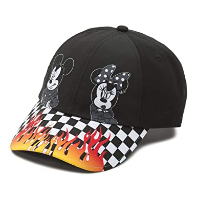 00ec537a4f2 Vans Disney X Punk Mickey Mouse Court Side Hat Cap, Black at Amazon ...