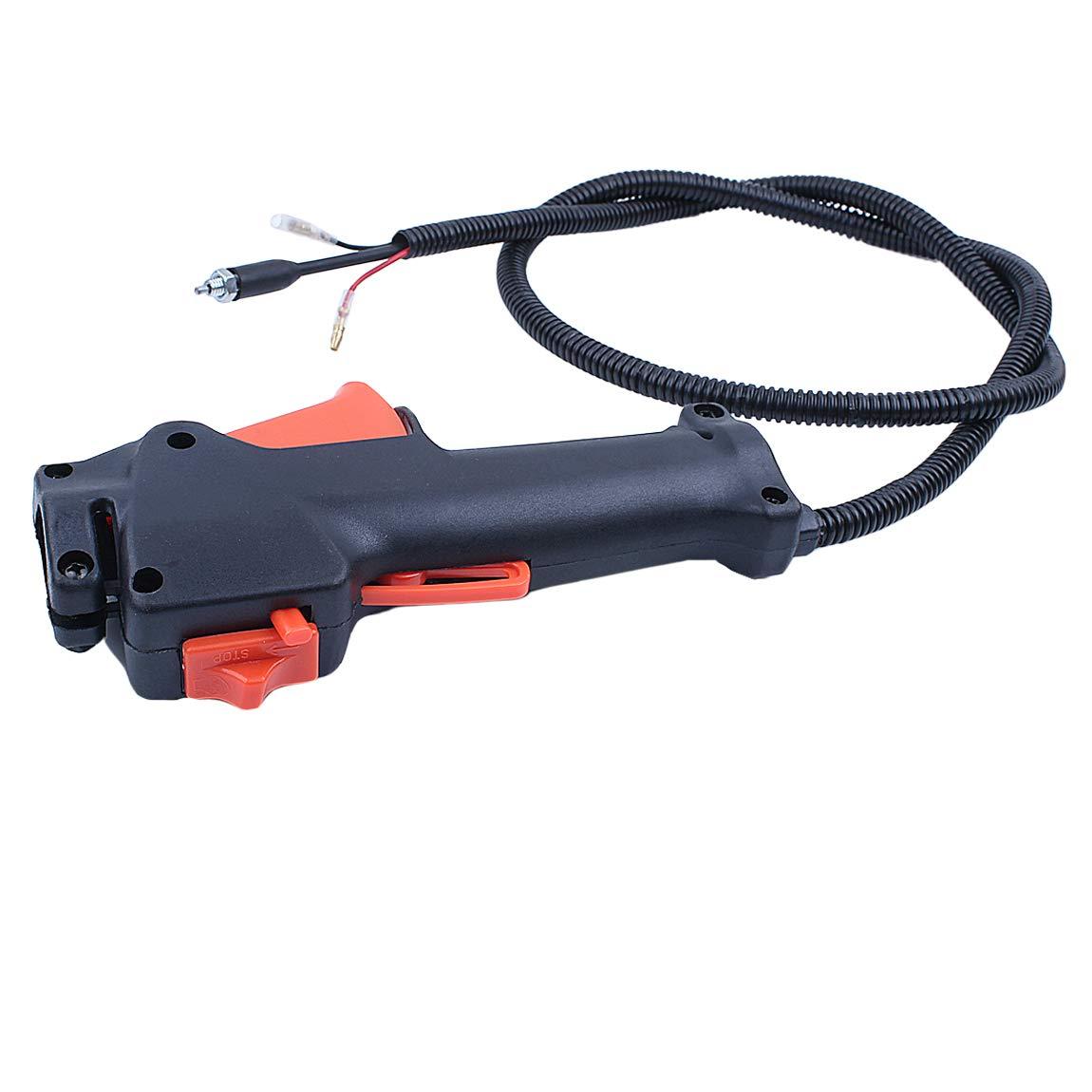 Haishine Manija Interruptor Cable del gatillo del Acelerador ...