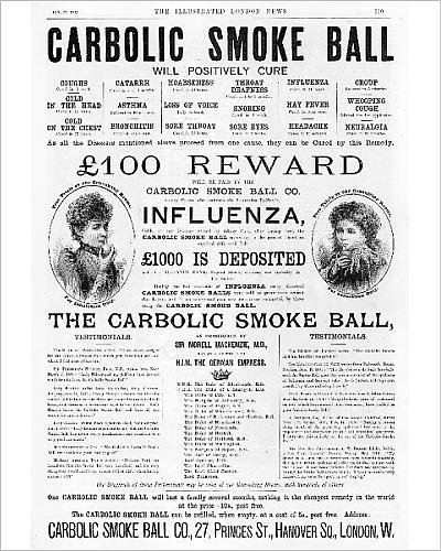 Photographic Print of Carbolic smoke ball