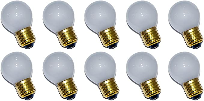 10 Stück Glühlampen Glühbirnen matt E27 Birne 40W Glühbirne Glühlampe