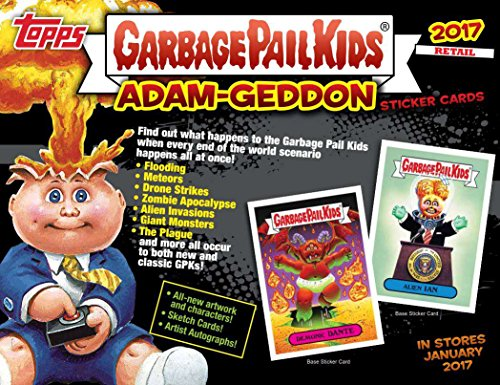 Topps 2017 Garbage Pail Kids Series 1 Armageddon Blaster Box Cards, ()