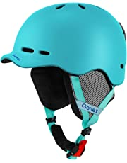 Gonex Ski Helmet, Snow Snowboard Helmet with Detachable Inner Padding, Lightweight Helmet for Women & Young, M/L Size, 5 Colors